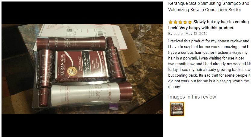 Keranique Shampoo Customer Reviews