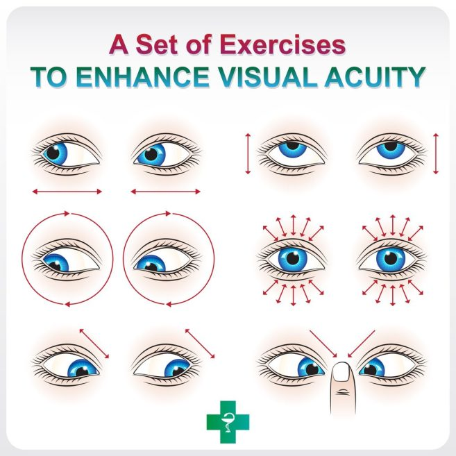 Eye Exercises For Farsightedness