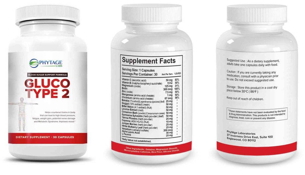 GlucoType Blood Sugar Supplement