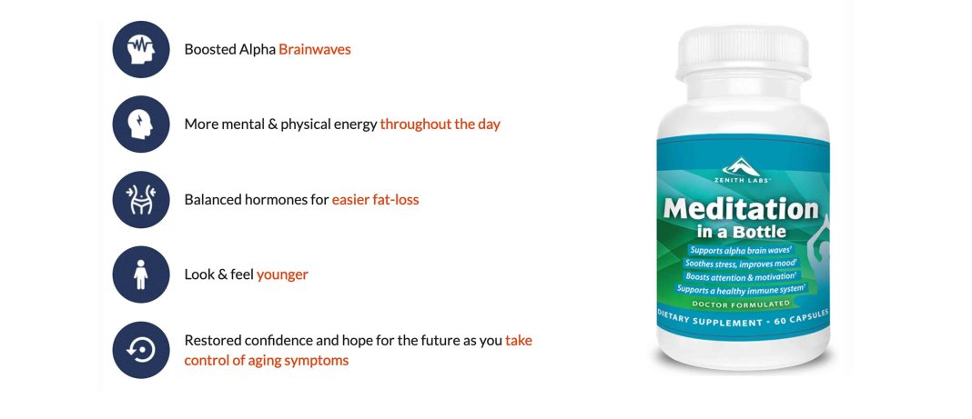 Meditation In A Bottle Anxiety Pills