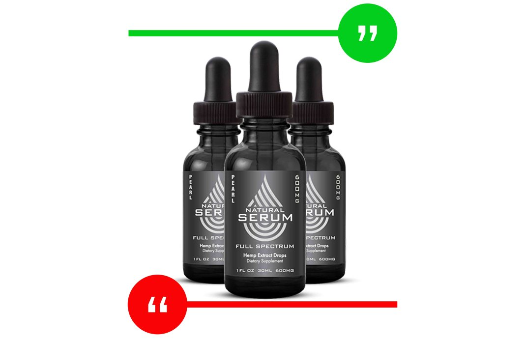 Natural Serum CBD Review