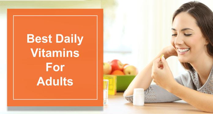 Best Daily Vitamins For Adults To Help Boost Immunity