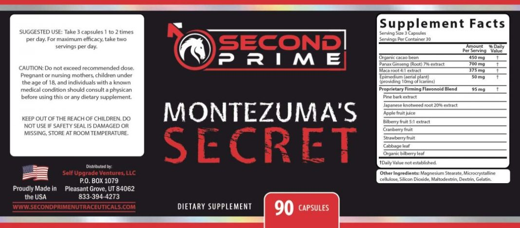 Montezuma Secret Ingredients