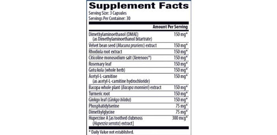 Zenith Brain C 13 Ingredients