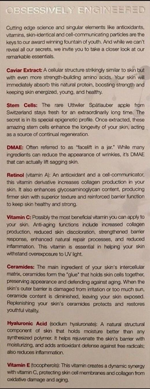 Cosmedique_ingredients