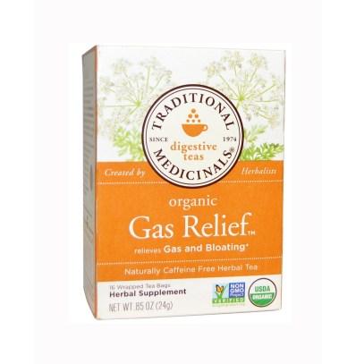 Traditional Medicinals Organic Gas Relief Tea