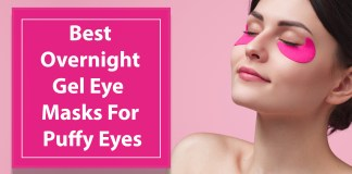 Best Overnight Gel Eye Masks For Puffy Eyes!