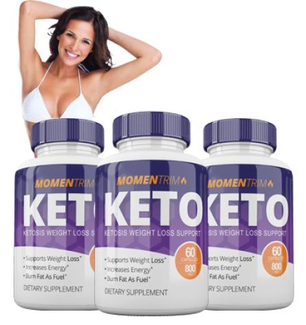 Momen Trim Keto supplements