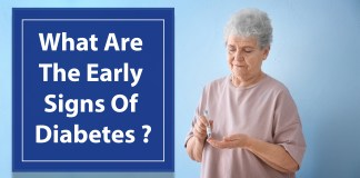 What are the early signs of diabetes