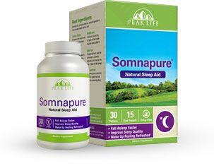 Somnapure Review Does Peak Life S Natural Sleep Aid Work