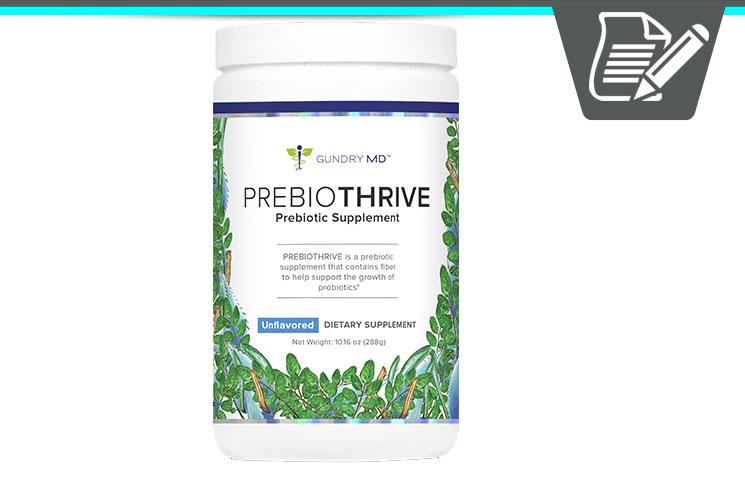 Gundry MD PrebioThrive Review - Premium Pure Prebiotic Product?