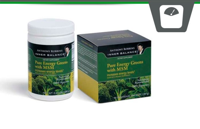 Pure Energy Greens Review Tony Robbins Inner Balance