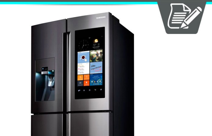 samsung family hub refrigerator review smart touchscreen. Black Bedroom Furniture Sets. Home Design Ideas