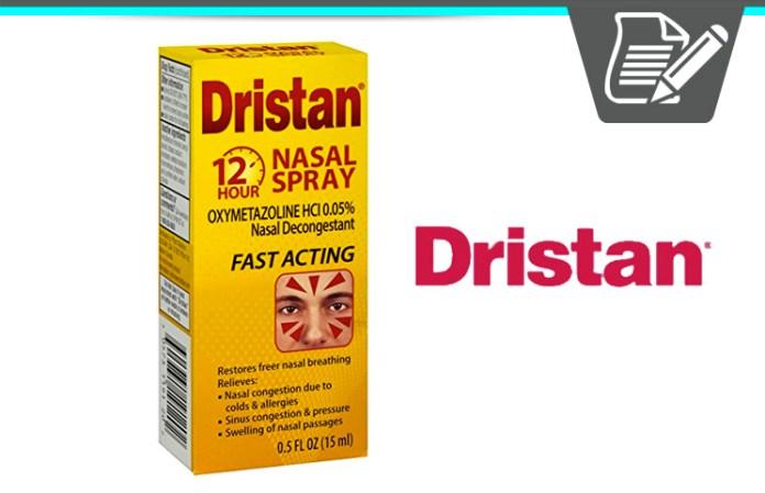 how to use dristan nasal spray