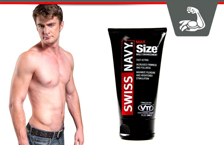 Swiss Navy Max Size Cream – Topical Male Enhancement Cream?