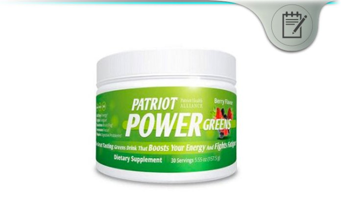 Patriot Power Greens Review Restore Energy And Vitality