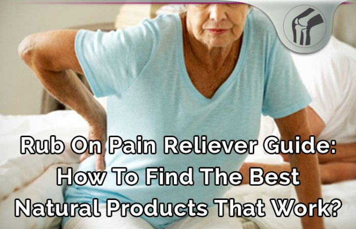 Rub on Pain Reliever