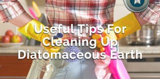 useful tips for cleaning up diatomaceous earth