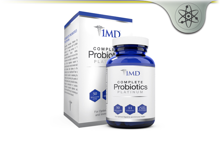 1MD Complete Probiotics Platinum – Optimal Microbiome Balance?