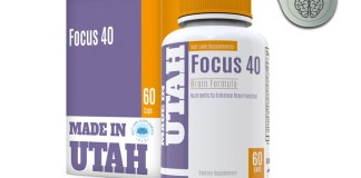 Brain Booster Focus 40