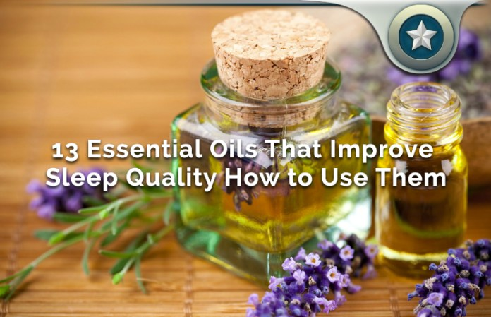 13 Essential Oils For Improving Sleep
