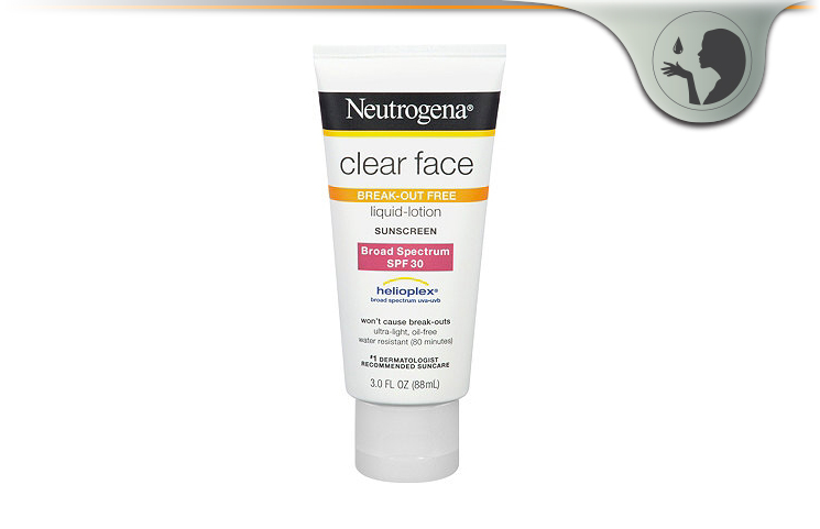 Neutrogena Clear Face Liquid-Lotion Sunblock – Oil-Free Sunscreen?