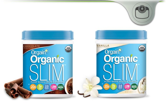 Orgain Organic Slim