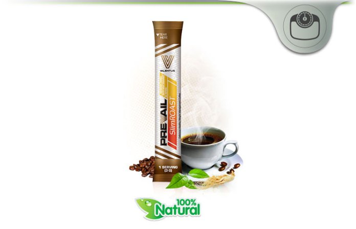 Valentus Slimroast Review Healthiest Natural Weight Loss Coffee