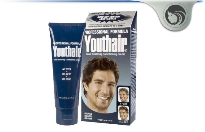 Youthair Review Safe Effective Natural Gray Hair Creme Restoration