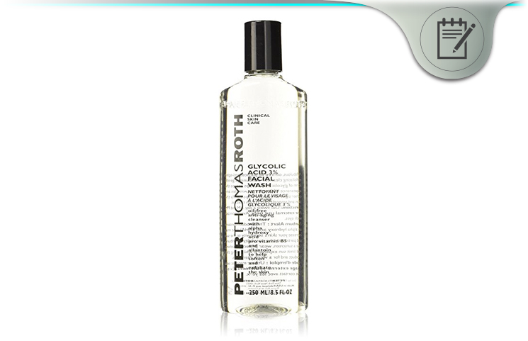 Peter Thomas Roth Glycolic Acid 3% Facial Wash – Safe Skincare?