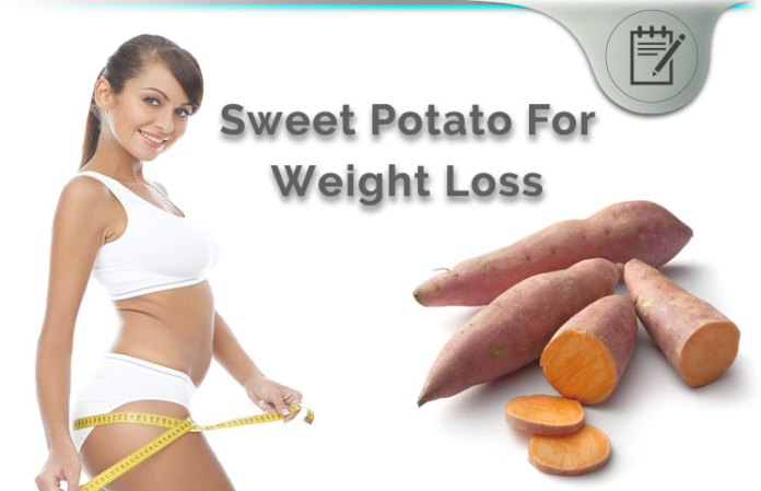 Sweet Potato For Weight Loss