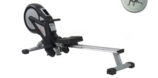 Sunny Health and Fitness SF-RW5623 Air Magnetic Rowing