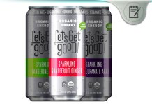 Let's Get Good! Organic Energy Drinks
