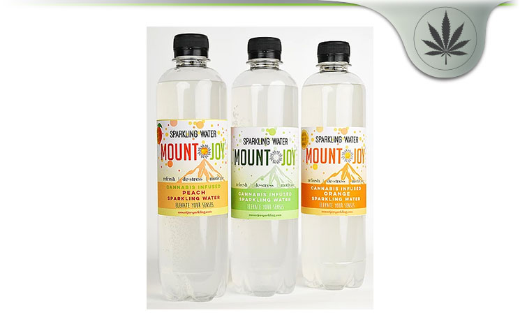 Mount Joy Cannabis Infused Sparkling Water Review