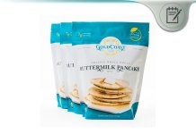 Goldcoast Organic Whole Wheat Buttermilk Pancake Mix