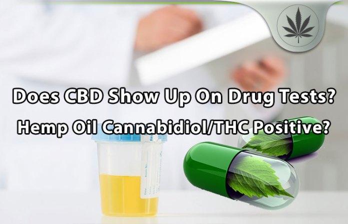 cbd drug testing cannabidiol tch hemp oil results