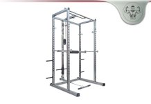 Merax Athletics Fitness Power Rack Olympic Squat Cage System