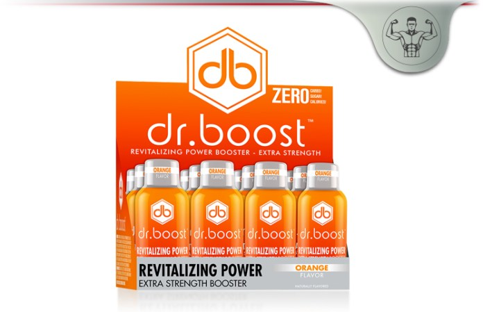 Dr Boost Green Tea Energy
