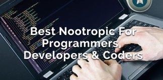 Best Nootropic Cognitive Enhancers For Programmers, Developers & Coders