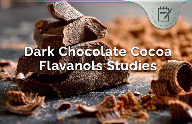Dark Chocolate Cocoa Flavanols Health Food Scientific Studies