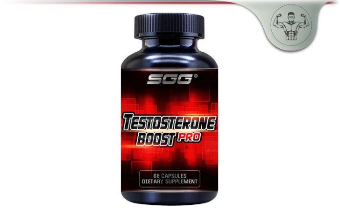 SGG Testosterone Boost Pro