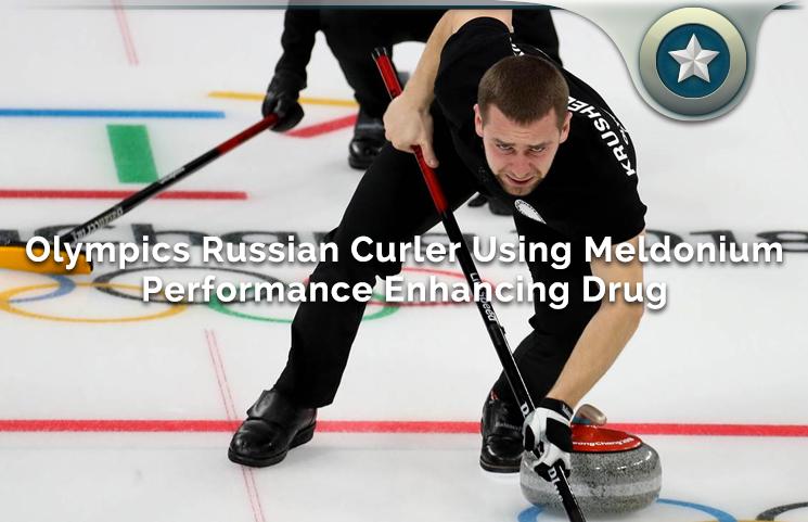 Olympics Russian Curler Using Meldonium Performance Enhancing Drug