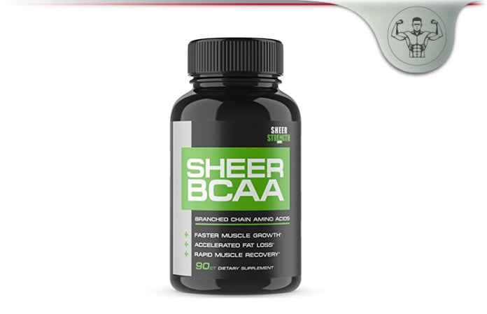 Sheer Strength Labs BCAA
