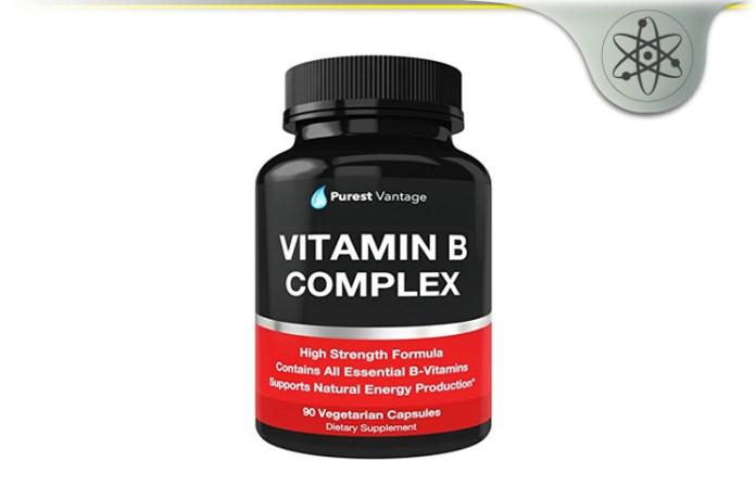 Purest Vantage Vitamin B Complex Review Natural Energy