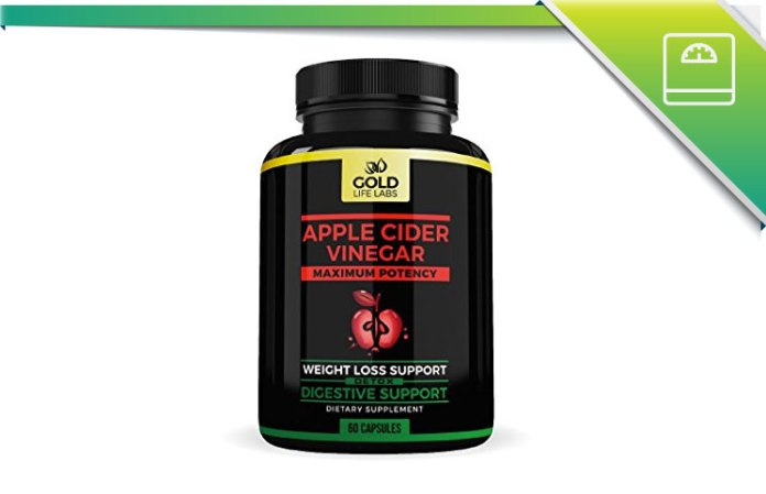 Gold Life Labs Apple Cider Vinegar Review: Weight Loss
