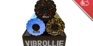 Vibrollie Vibrating Fitness Roller