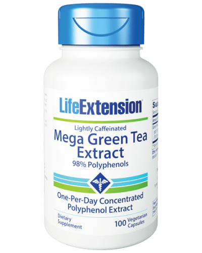 Life Extension Mega Green Tea 100 Cap bottle