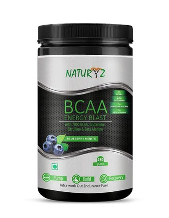 Naturyz Instantized BCAA Energy Blast with 7000 BCAA review