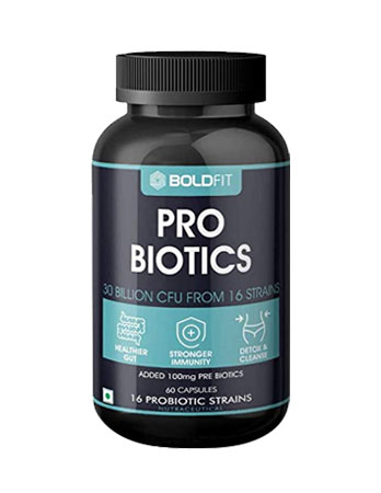 Boldfit Probiotics Supplement 30 Billion CFU Review