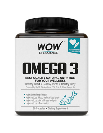 WOW Omega-3 Fish Oil Triple Strength